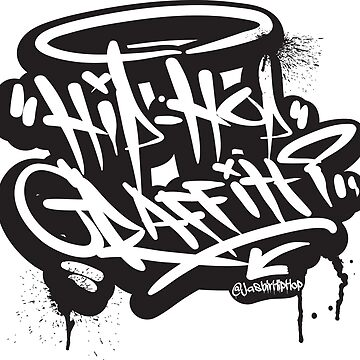 Hip-Hop Graffiti - T-Shirts & Hoodies by DesiHipHop