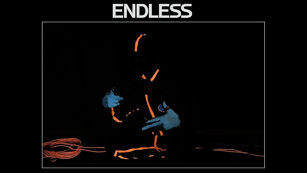 Frank Ocean Endless Art Poster Dark by SimonsG