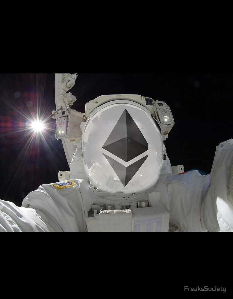 Ethereum ETH Cryptonaut by FreaksSociety