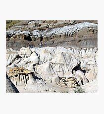 The Badlands, Alberta Photographic Print