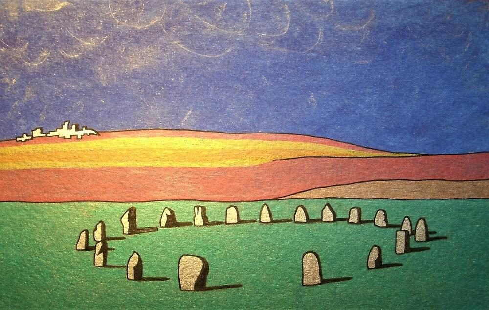 Tregeseal Stone Circle, Cornwall by Bladup
