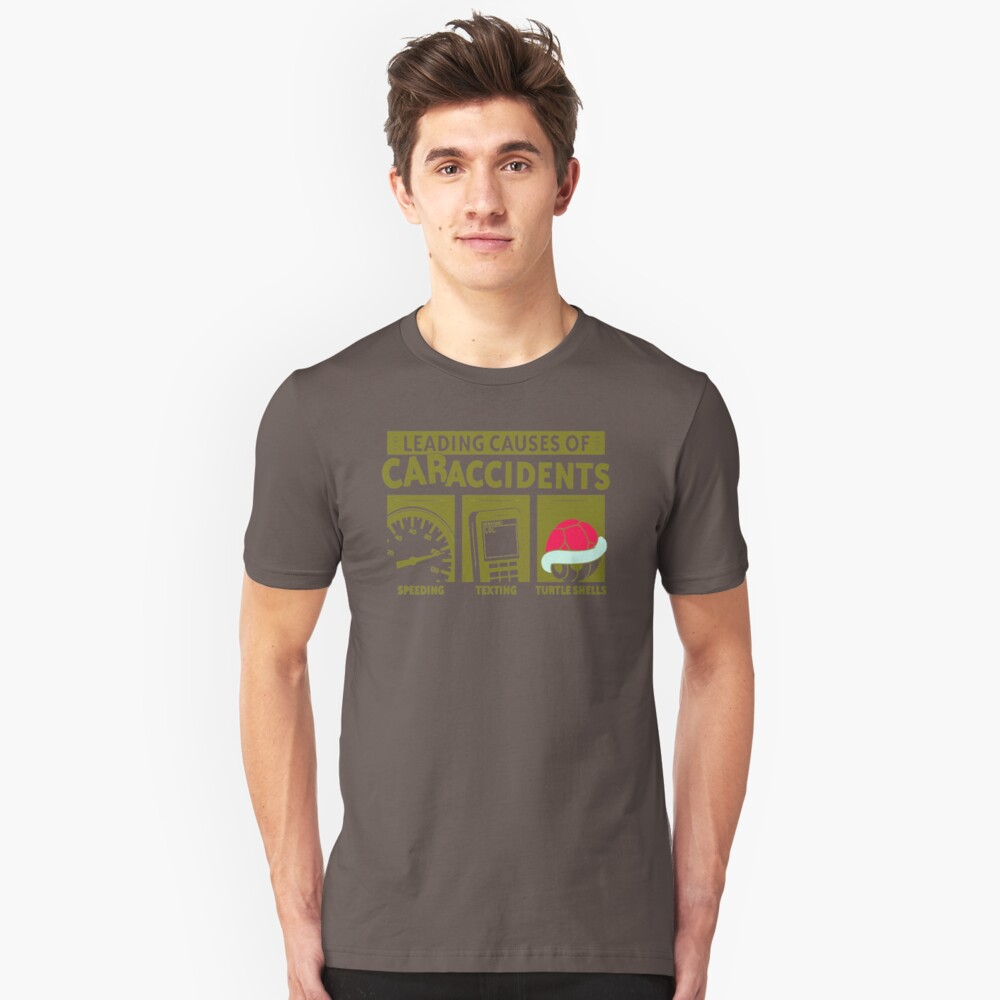Leading Causes Of Accidents MP871 Best Trending Unisex T-Shirt Front
