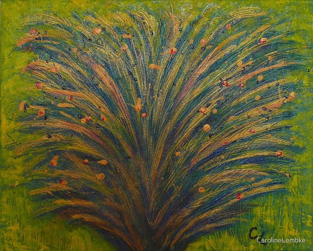 Golden Bush by CarolineLembke