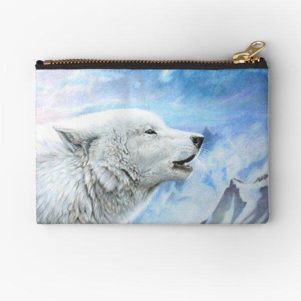 wake the white wolves Täschchen