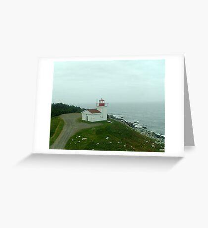 Port Bickerton Light Greeting Card