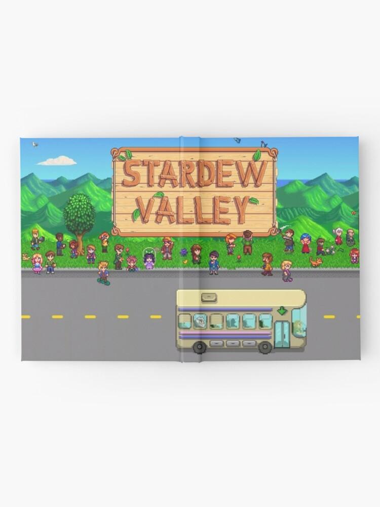 Alternative Ansicht von Stardew Valley Bus Notizbuch