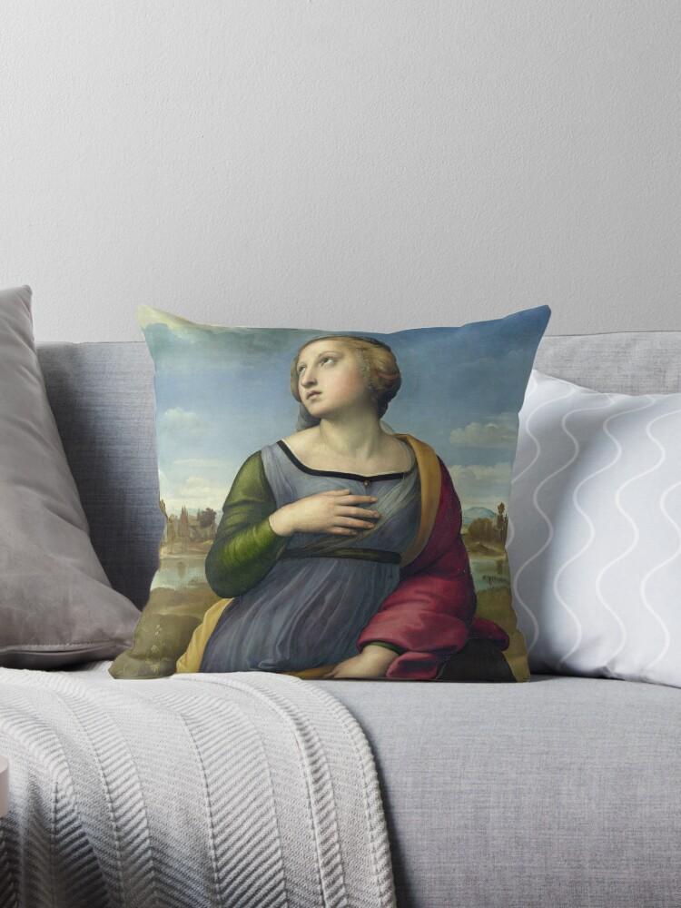 "Raffaello Sanzio da Urbino ""Saint Catherine of Alexandria"", 1507 by Alexandra Dahl"
