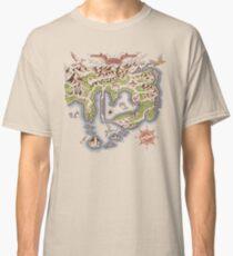 Kanto Map Classic T-Shirt
