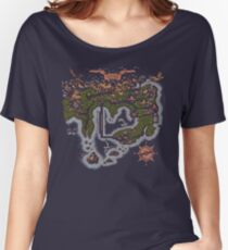Kanto Map Women's Relaxed Fit T-Shirt