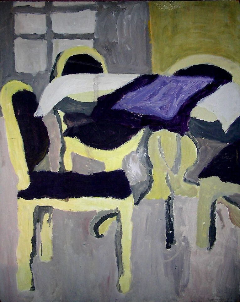 Table And Chairs by Rosanna Jeffery
