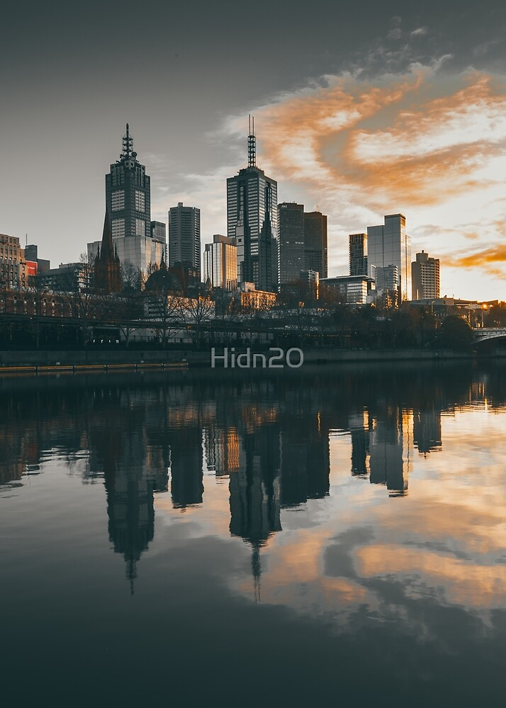 Melbourne Reflections by Hidn20