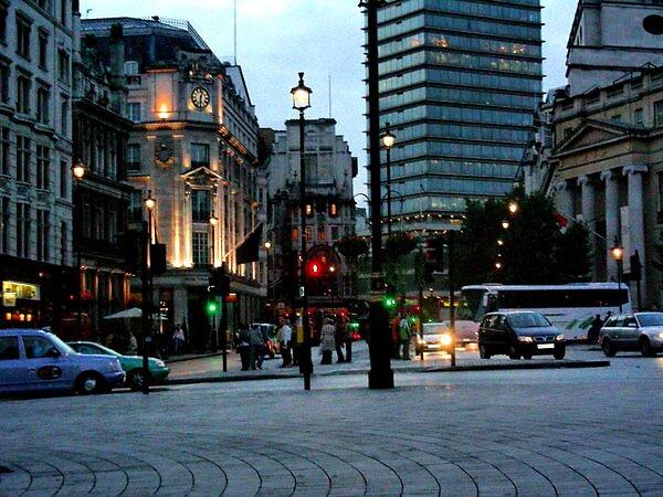 Night Life In London by Rosanna Jeffery