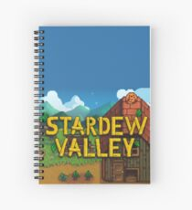 Stardew Valley Spiral Notebook