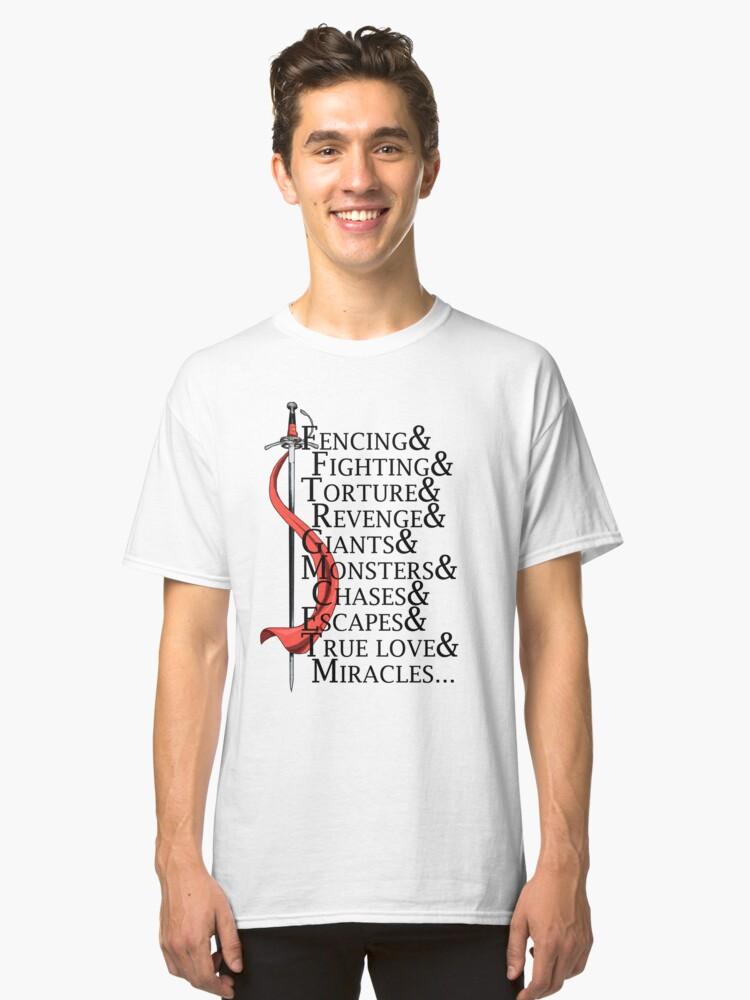 The Princess Bride  Classic T-Shirt Front