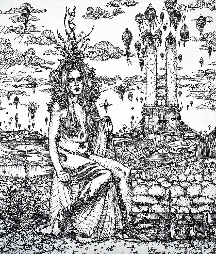 BEYOND THE LANDMARKS OF THINGS by lautir