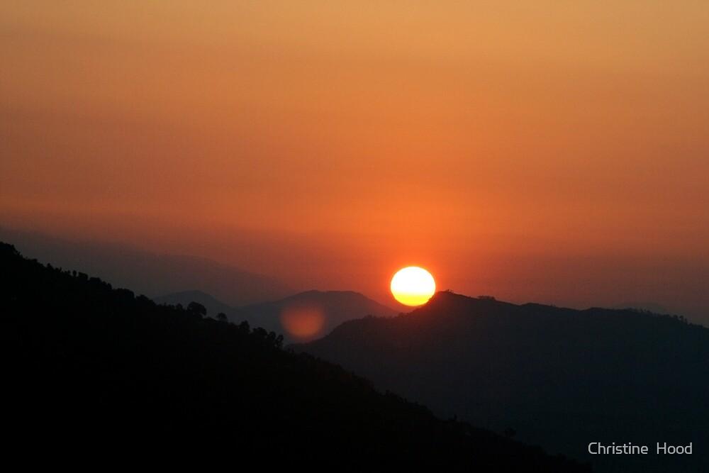 Annapurna Sunrise by Christine  Hood