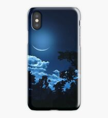 Under a magical Moon iPhone Case
