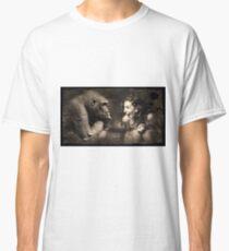 Composition monkey man Classic T-Shirt