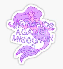 Mermaids Against Misogyny Sticker