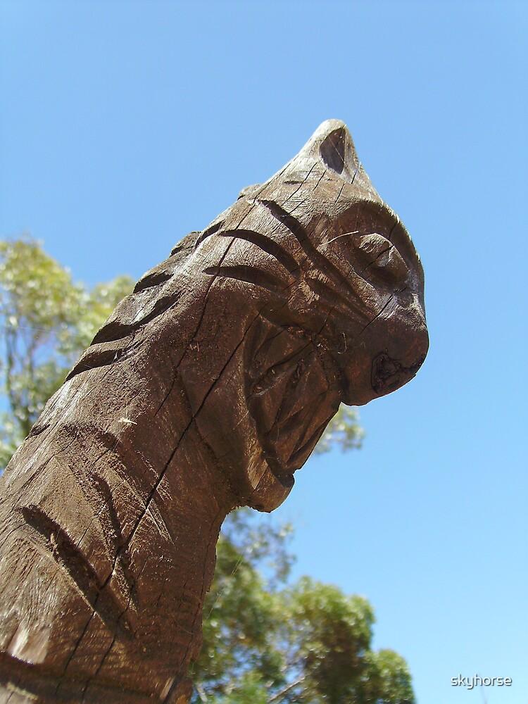Warning Totem #2 by skyhorse