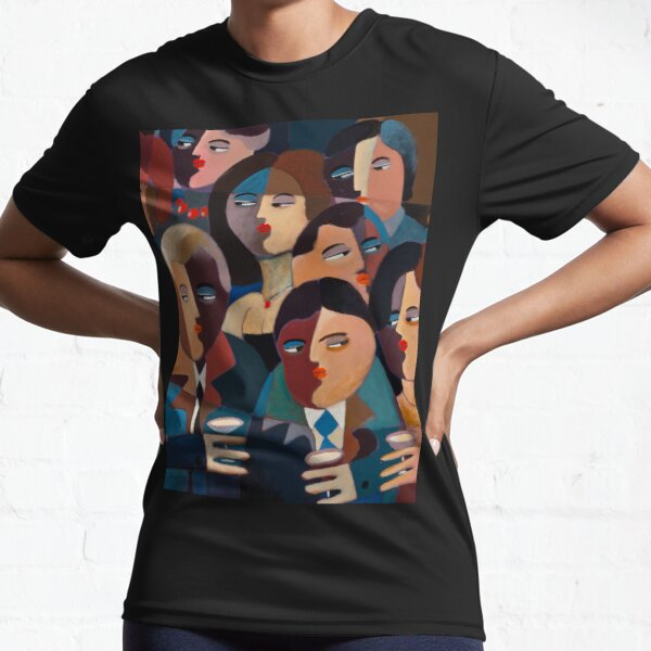 THE OFFICE PARTY Active T-Shirt