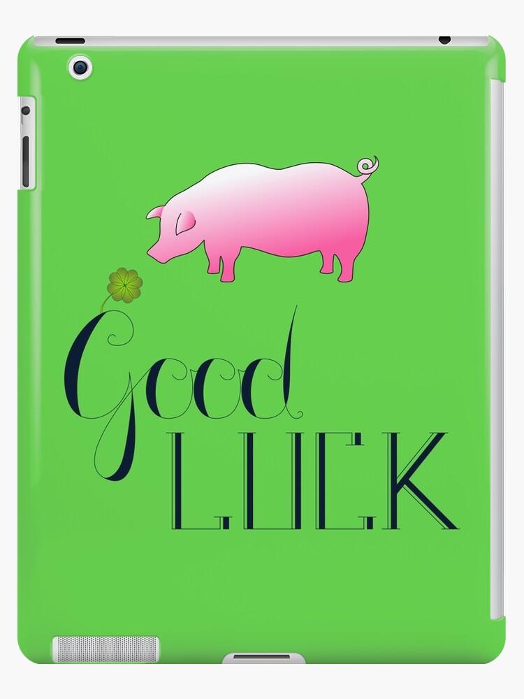 Good Luck Pig 2018 by FrauleinimStall