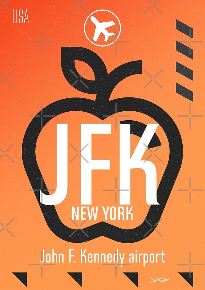 JFK Orange by Wanderlust ID