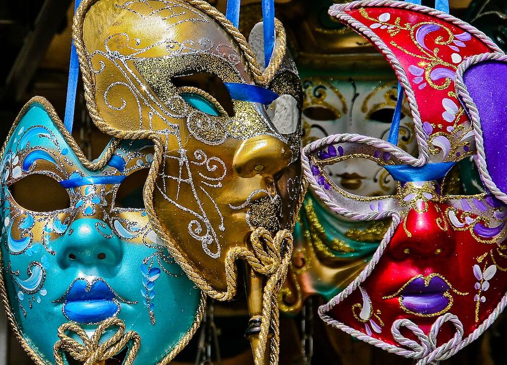Venice Masks by JayteaUK
