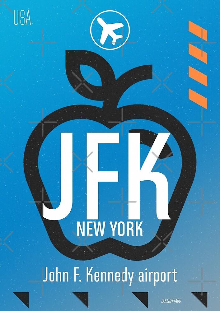 JFK Blue sky  by Wanderlust ID