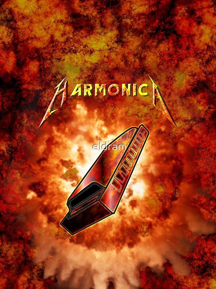 Hard Rock Harmonica by eldram