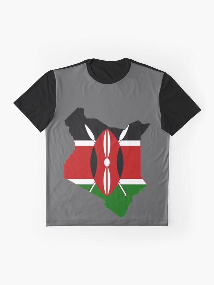 Alternate view of Kenya Graphic T-Shirt