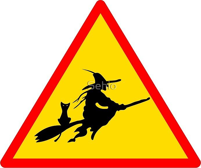 Caution, Witch by Sehio