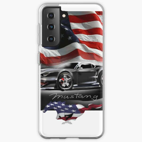 Ford Mustang - The Power ! Samsung Galaxy Soft Case