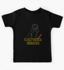 Darth Vader Cat Kids Tee