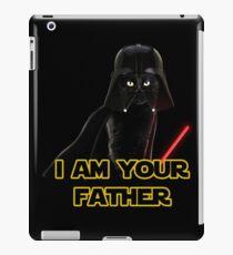 Darth Vader Cat iPad Case/Skin