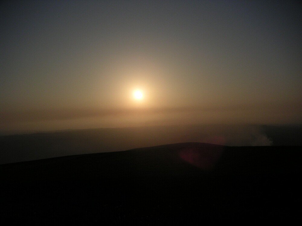 Smokey Sunset by Anna Leworthy