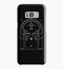 Lord of the Rings - Gates of Moria Ithilden Door Samsung Galaxy Case/Skin