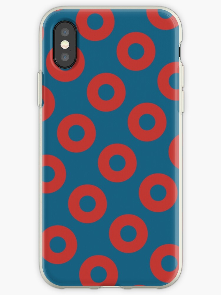 new style 45402 20618 'Fishman Donuts - Phish' iPhone Case by AllyFlorida