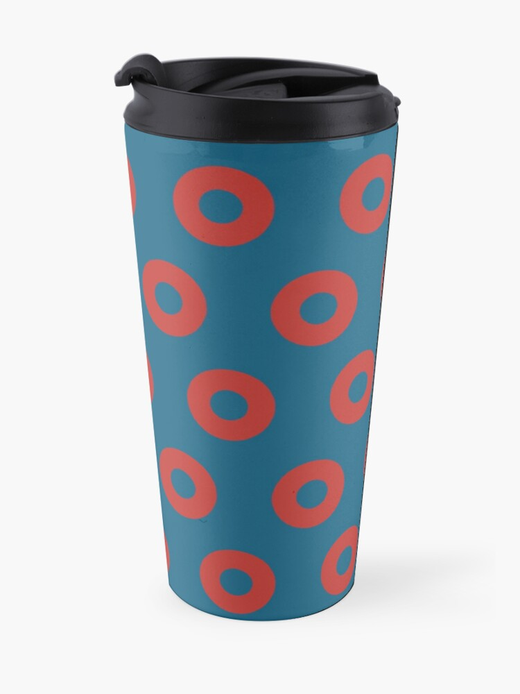 Alternate view of Fishman Donuts - Phish Travel Mug