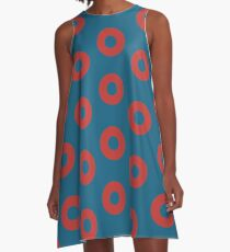 Fishman Donuts - Phish A-Line Dress