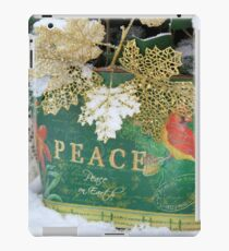 Peace on Earth - Winter wonder iPad Case/Skin