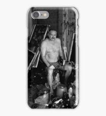 in the garage iPhone Case/Skin