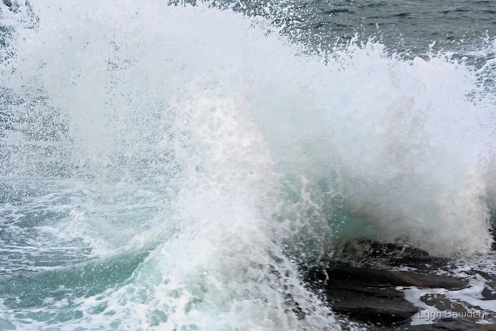 """""""Wave Action"""" by Lynn Bawden"""