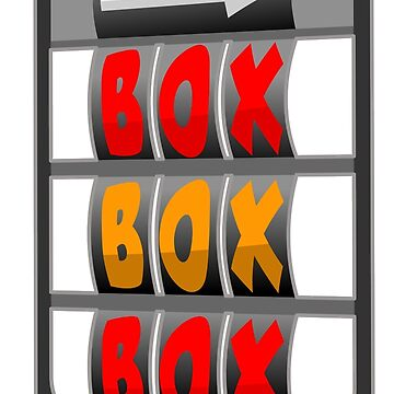 BOX BOX BOX by Cirebox