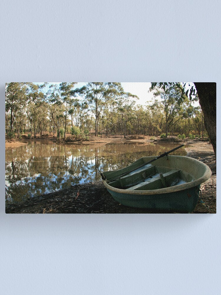 Alternate view of Down by the lake Canvas Print