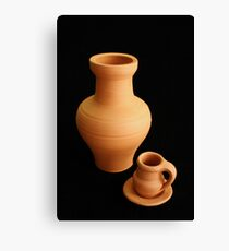 Pottery Canvas Print