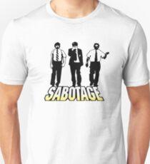 Camiseta unisex ¡Sabotaje!