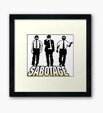 Sabotage! Framed Print