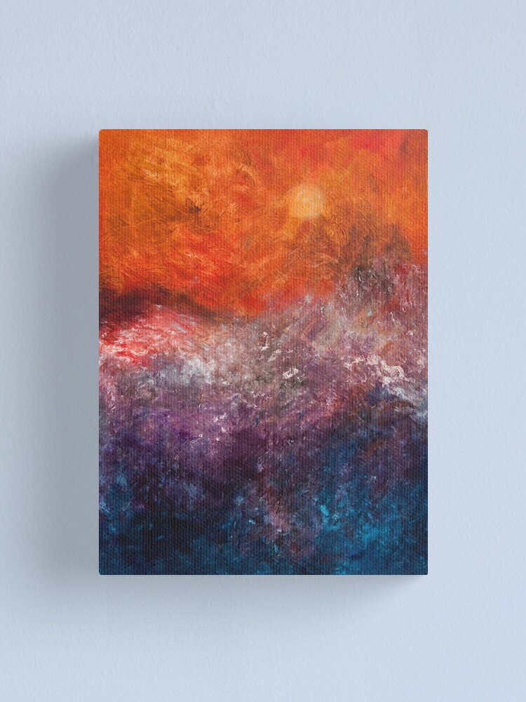 Alternate view of TEMPEST Canvas Print