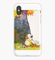 Calvin and Summer - Summer Vacation iPhone Case/Skin